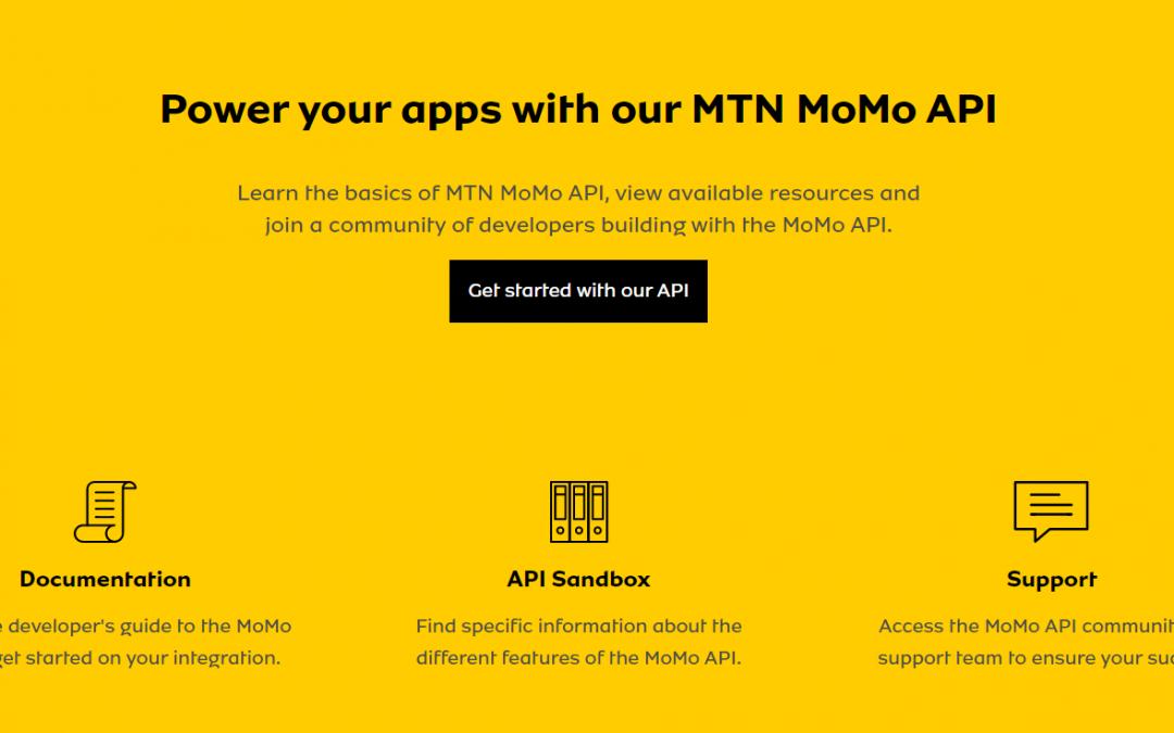 MTN Opens API for developers